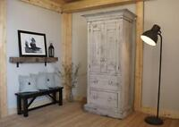 Salvaged Wood Rustic Armoire $2395 & more! By LIKEN.