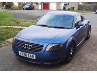 1999 - Audi TT - 1.8 - Coupe - 225 bhp - Denim Blue - Quattro - 12 month MOT