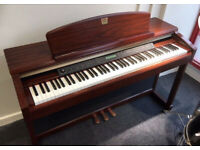 Yamaha Clavinova CLP-170 Digital Piano in mahogany flagship model GH3 keyboard
