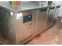 FOSTER GSC1/3H Prep Fridge stainless steel 3 doors Commercial Catering Refrigerator, chiller