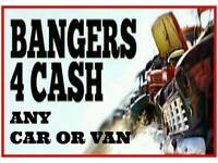 All Cars Vans 4x4s Caravans and Motorhomes Wanted