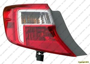 Tail Light Driver Side High Quality Toyota Camry 2012-2014