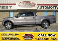 2013 Ford F-150 Sterling Grey FX4 Off Road 4x4, Roush Exhaust, L