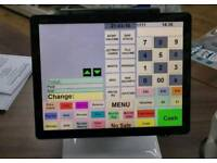 Partner Tech SP550 Epos shop till with software ,scanner and printer