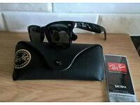 Rayban gloss black wayfarer sunglasses. New in box