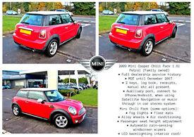 My 2009 MINI Cooper 1.6i (Extra; Chilli Pack) FSH, MOT, lady owned
