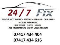 24/7 FIX Car Service