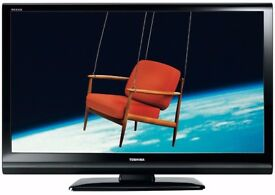 "Toshiba Rezga 42"" Inch Widescreen - 1080p (FullHD) LCD TV with Built-In Freeview"