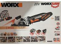 Worx brand new power saw ( multi purpose) cost £169.99