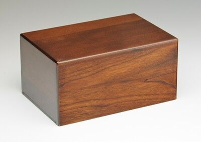 Wooden Cremation Urns - 2nds - Bargain! - Large Size - Walnut Color
