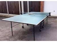 Tennis table foldable £50 collection