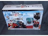 PS3 Disney Infinity starter pack, as new, small surface damage to box