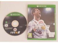 Fifa 18 Xbox 1 very good condition
