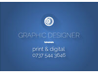 Graphic Designer for Hire - Print & Digital Design, Branding & More