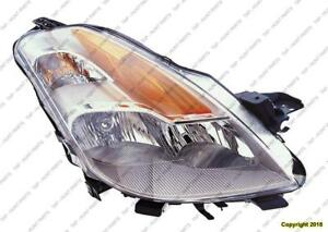 Head Lamp Passenger Side Coupe Nissan ALTIMA 2008-2009
