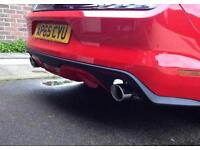 Ford Mustang Ecoboost Axle Back Exhaust