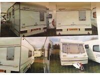4 Berth Swift Accord touring caravan for sale!