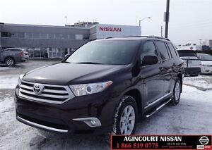 2013 Toyota Highlander V6 |AWD|Heated Seats| 1 Owner|
