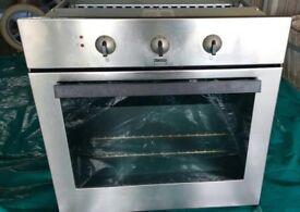 Zanussi built in under counter fan oven