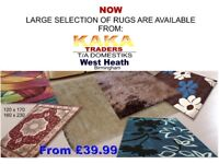 Large Selection of Rugs
