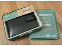 New Mantaray Bi-Fold Leather Wallet