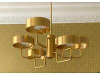 Masiero Luxury Designer Chandelier Sound S6 Ceiling Large LED Chandelier