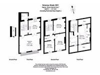 SPACIOUS 4 DOUBLE BED Maisonette AMAZING location, size & decor