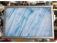 "APPLE A1082 23"" CINEMA DISPLAY. WORKING BUT HAS SMALL SHADOW LOWER RIGHT OF SCREEN. NO POWER SUPPLY."