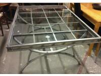 Glass Dinning table and 4 chair
