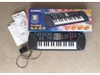 Casio SA-65 Electric Keyboard