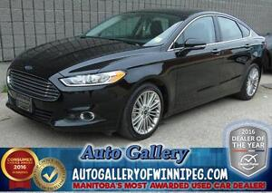 2016 Ford Fusion SE*Lthr/Roof/AWD