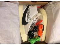 Nike off white x blazers men's uk 9.5