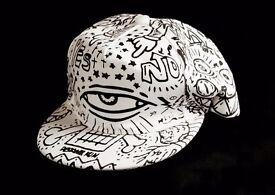 Cool Design - Black and White - Cap - Unisex - BRAND NEW