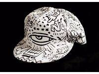 Cool Design - Black and White - Cap - Unisex - BRAND NEW