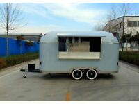 Catering Trailer Burger Van Pizza Trailer Food Cart 4000x2000x2350