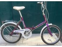 Retro Universal Stowaway 3 folding bike mind condition fold up bicycle