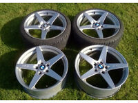 "MVR Magnum By Mille Miglia Alloy Wheels 5x120 19""x8.5J BMW T5 Range Rover etc..."