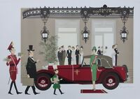 Paul Denis Noyer : Mercedes Mannheim 370 & Casino De Monte Carlo - Litografía - casino - ebay.es