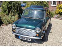 Rover Mini Mayfair Classic Automatic Racing Green