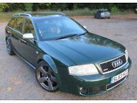 Audi RS6 Avant 4.2l V8 Bi-Turbo, 53 plate, FSH, new gearbox, cambelt and refurbished alloys