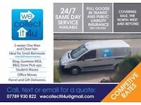 MAN AND VAN HIRE, REMOVALS & COLLECTIONS , NO SURPRISE FEES AFTER BOOKING, SALE & MANCHESTER AREA