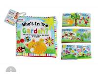 Brand new baby cloth book