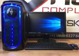 Brand New Fast Gaming Pc Computer 6 Core 8GB Ram SSD 2GB Graphics Card Free Doorstep Delivery