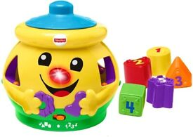 Fisher-Price H8179 Cookie Shape Surprise, Laugh and Learn Shape Sorter (NEW in Box)