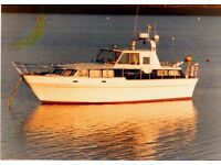 RANGER 36 MOTOR CRUISER WITH 2 X 275 SABRE DIESELS ,6 BERTHS WITH AFT CABIN, £29950