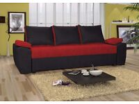 "Sofa bed UK STOCK 1-5 DAY DELIVERY"" CATANIA"" Only £199"