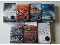 Game Of Thrones 7 Book Set