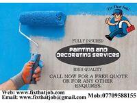 Painter & Decorator/handyman