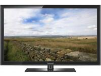 """Samsung 51"""" Plasma Full Hd 1080p Slimline Tv Built In Freeview Remote & Stand Excellent Condition"""