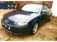 Audi, A4, Convertible, 2004, Automatic, 1781 (cc), 2 doors
